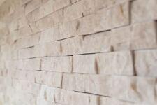 Mosaïque carreau marbre pierre naturel noir brique Splitface 40-48196_b  1plaque