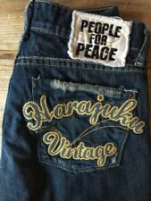 PEOPLE FOR PEACE JEANS HARAJUKU VINTAGE SZ 24 L@@K!