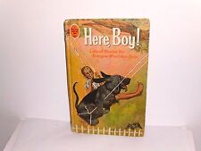 Here, Boy! Collection of Dog Stories -Whitman Tween Age Book 1966 HC Illustrated