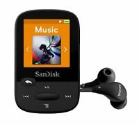 SanDisk Clip Sport MP3 Player 8GB Black  holds 2000 songs