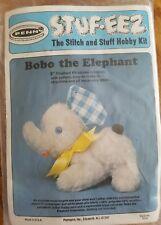 VINTAGE BOBO THE ELEPHANT STUF-EEZ SEW & STUFF KIT