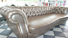 LEDERSOFA XXL BIG SOFA VINTAGE 2,50/3,0m LEDER COUCH DESIGN CHESTERFIELD LUXURY!
