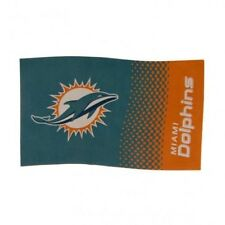 Miami Dolphins NFL American Football Team 5ft x 3ft Flag FD Free UK P&P
