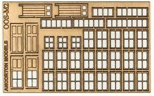 24 x 9mm x 16mm Ratio 139 Signal Box Windows White /'00/' Gauge 1st Class Post