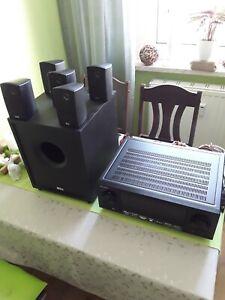 Dolby surround system 5.1 Hifi Anlage mit Pioneerverstärker und Heco Boxensystem