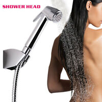Silver Shower Head Bathroom Shower Room Portable Shower Nozzle