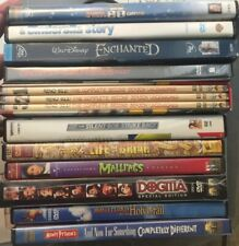 Large Comedy/Family Dvd's & Hd Dvd Disc Movies