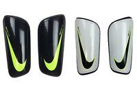 Nike Adult Mercurial Hard Shell Soccer Shin Guards Black/White/Volt New