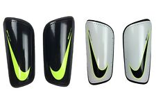 Nike Adult Mercurial Hard Shell Soccer Shin Guards Black/White/Volt New SP2101