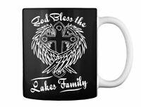 God Bless The Lakes Family Gift Coffee Mug
