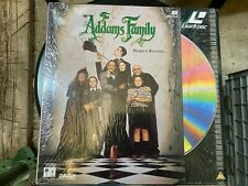 The Addams Family Film 1991 Laserdisc