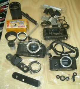 Bulk Lot of  Camera Spare Parts:   Ref 15:54  Selling for Charity