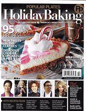 Popular Plates Holiday Baking magazine Peppermint swirl cheesecake Best recipes