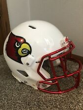 Louisville Cardinals Game Used Helmet Game Worn Issued Lamar Jackson Style