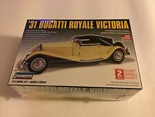 1931 BUGATTI ROYALE VICTORIA MODEL KIT 1:24 SCALE LINDBERG NEW SEALED!!