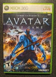 James Cameron's Avatar: The Game (Microsoft Xbox 360, 2009) Complete, TESTED