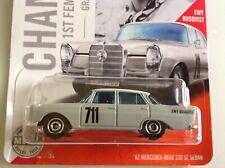 Matchbox 1962 MERCEDES-BENZ 220S rally car FINTAIL HECKFLOSSE Ewy Rosqvist new