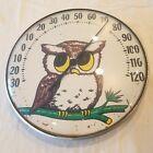 "Vintage 12"" Ohio Thermometer OWL Works"