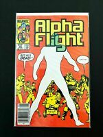 ALPHA FLIGHT #25 MARVEL COMICS 1985 VF+ NEWSSTAND EDITION