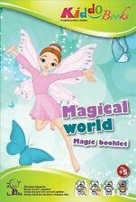QuackDuck Malbuch - Magical World - Malbuch mit Zauberpapier
