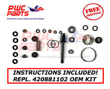 SeaDoo RXP-X RXT-X GTX-iS 215/255/260HP Supercharger Rebuild Kit w/ Metal Washer
