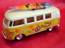 Voitures, camions et fourgons miniatures rouge bus 1:32