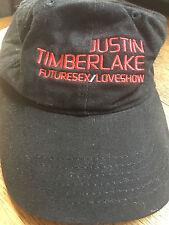 Vintage Justin Timberlake Future Sex/Love Show Hbo 09.03.07 Black Hat New/Unworn