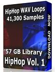 41,300+ Hip Hop WAV Samples Loops Volume 1, Ableton Logic Pro Tools FL Studio