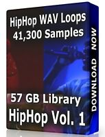 41,300+ Hip Hop WAV Samples Loops Volume 1, Ableton Logic Pro Tools FL Studio