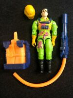 G.I. Joe Eco Warriors Flint 1991 80% Complete GI ARAH