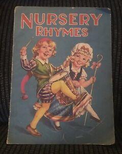Nursery Rhymes- Vintage Book
