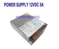 S-60-12a Super Stable 12V 60W Regulated Power Supply ( 10.5 - 13.8V ) 5 AMP