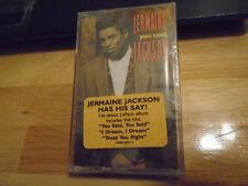 SEALED RARE PROMO Jermaine Jackson 5 CASSETTE TAPE You Said TLC Babyface PEBBLES