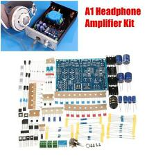 A1 Headphone Amplifier DIY kit Chassis AMO Module Based on For Beyerdynamic New
