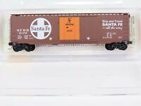 N Scale MTL Micro-Trains 32050/3 SFRB Santa Fe 50' Standard Box Car #6172 RTR