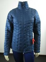 Womens TNF The North Face Thermoball FZ ECO Puffer Insulated Warm Jacket Bluewin