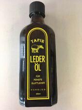 Tapir Lederöl farblos 200 ml