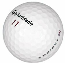 5 Dozen Taylor Made Project A Mint / AAAAA Recycled Used Golf Balls