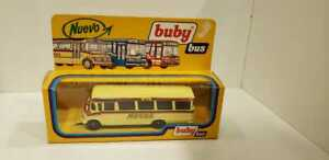 VERY RARE BUBY Mercedes Benz bus #60 made in argentina early 80`s mint