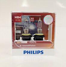 Genuine Philips HB4 9006 X-treme xtreme extreme Vision +100% +35m beam bulbs