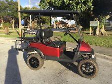 2015 lifted gas Club car Precedent 4 Passenger seat Golf Cart 14