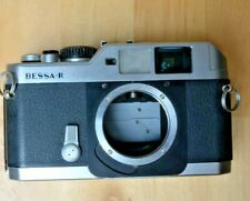 VOIGTLANDER BESSA R SILVER BODY 35mm SLR MF FILM CAMERA Fully working L39 mount