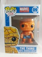 Marvel Funko Pop - The Thing - No. 09 - Vaulted and Rare