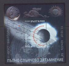 [ZAA-040d] – Bulgaria - 1999    Eclisse totale  -  1 foglietto    **  MNH
