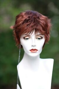 "ALAN THOMAS ""PEPPER"" wig-color: Bright Auburn-LIQUIDATION"