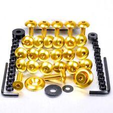 Pro-Bolt Aluminium Fairing Bolt Kit - Gold FSU161G Suzuki GSX-R1000 K3-K4 03-04