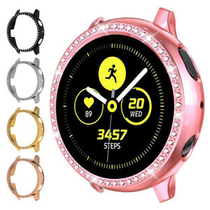 Luxury Crystal Protector Case For Samsung Galaxy Watch Active 2 40/44mm Cover 7