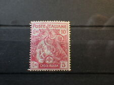 Timbre stamp ITALIA Croix Rouge Red Cross 1915 - Yt 98 Un 102 - Neuf Unused  MH*
