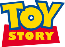 Toy Story Logo Edible Image cake Toppers Pre CUT 8cm x 10cm #195