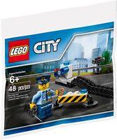 LEGO 40175 46182882 CITY Policeman w Donut - Polybag (48 pieces 10 scene cards)